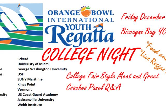 College Night at the Orange Bowl