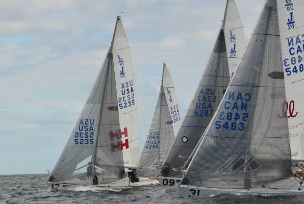 Becker's Blog: J/24 North American Championship Reports & Results