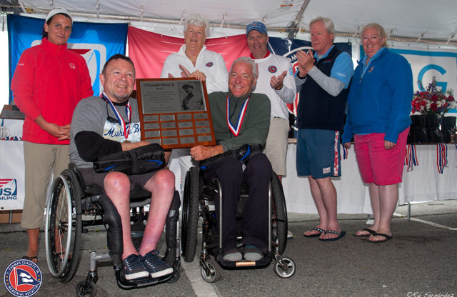 Champions are crowned at the Clagett Regatta and the 2018 U.S. Para Sailing Championships