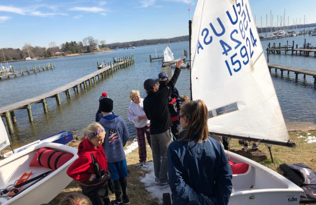 Notice of Clinic: S1D Optimist Stars Clinic, Spring 2019