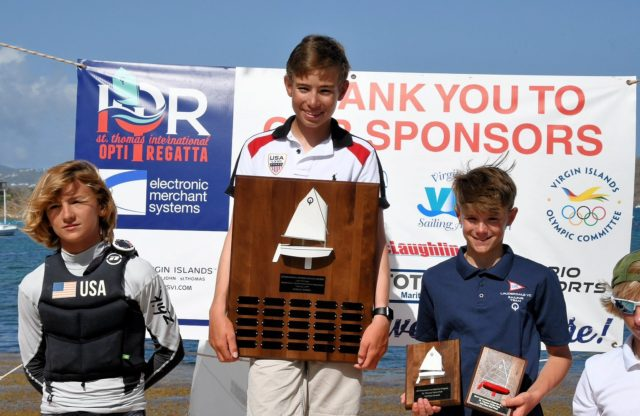 Foley Wins 26th International Optimist Regatta