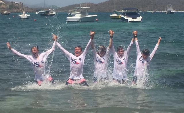 Worlds Team USA Wins 2018 International Optimist Team Race Regatta