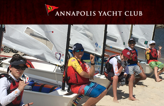 Annapolis Yacht  Club is Hiring: Full-time Jr. Sailing Director