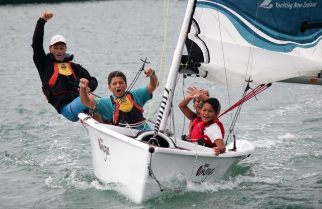 Kiwi's Out Front: Yachting New Zealand's Have a Go
