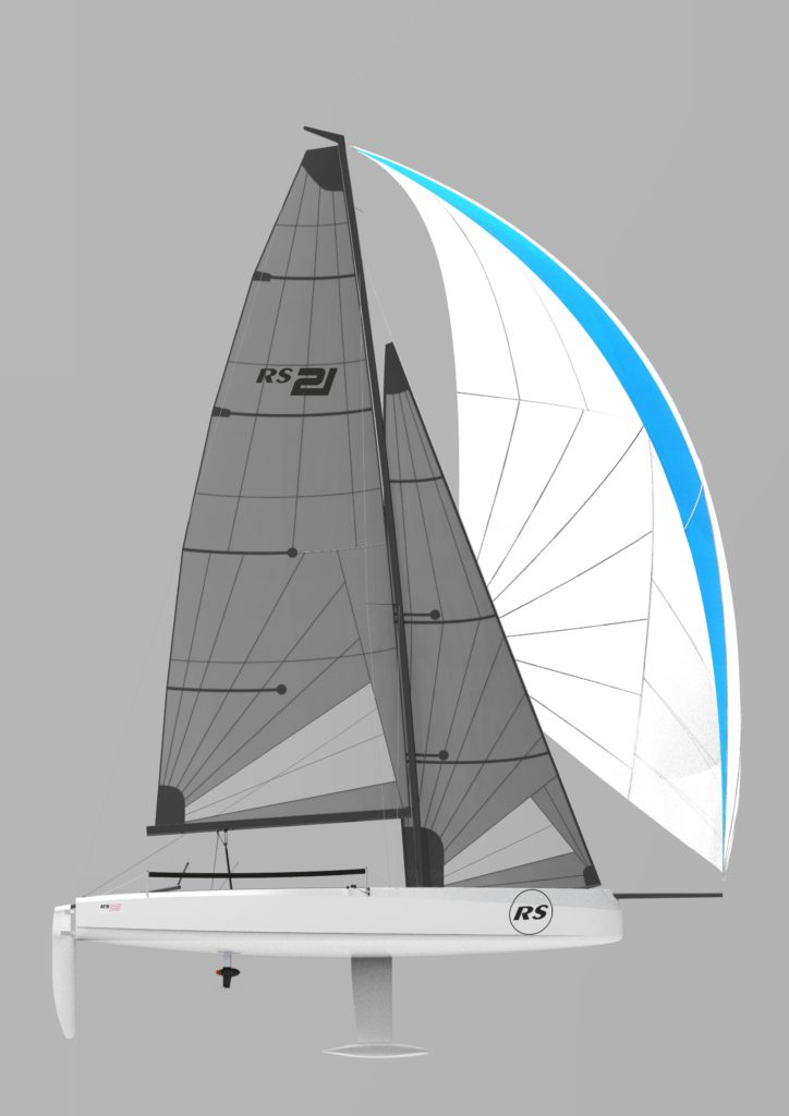 New Kid on the Block: Taking a Peek at the RS21 - Sail 1 Design