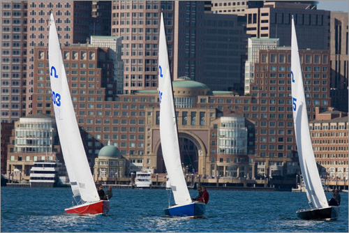 Sailing instructors, Boston North End