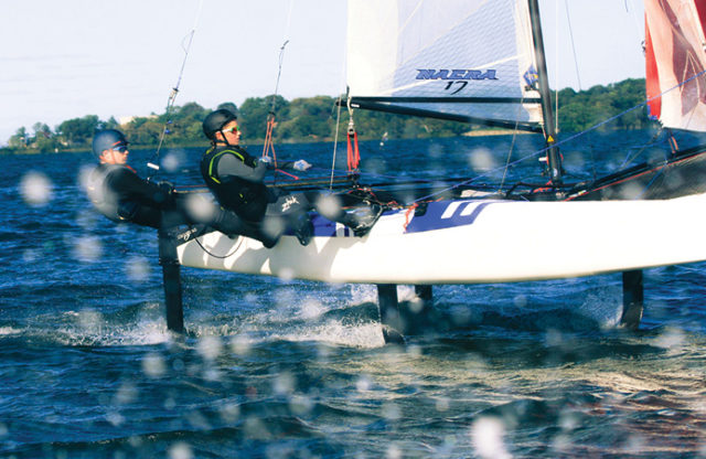 Junior Sailing Essay Contest: Win, and Foil!