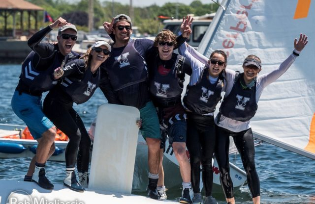Yale is the LaserPerformance Team Race National Champion!