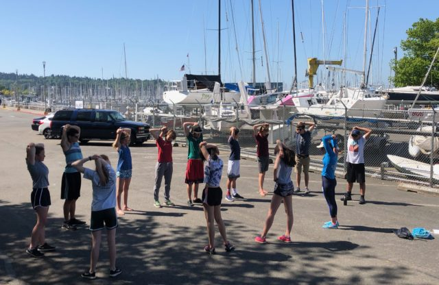 Fitness for Junior Sailing Summer Programs