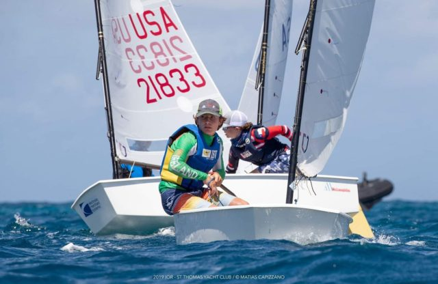 Team USA Wins St. Thomas International Optimist Team Race Championship