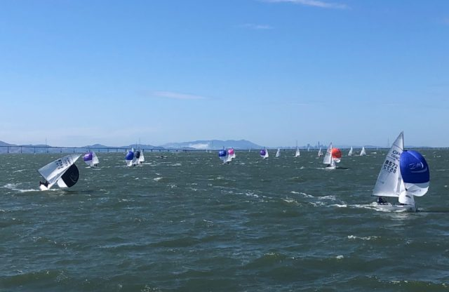 2019 US Sailing Junior National Championships Report, Day 1