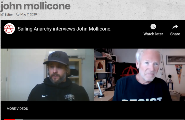SailingAnarchy Interview with Coach of the Year John Mollicone
