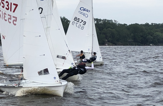 "S1D/North Sails ""C&I"" 420 Clinic Report"
