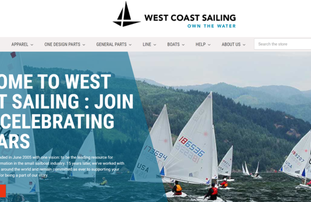 West Coast Sailing Marks 15 Years of Serving the Sailing Community