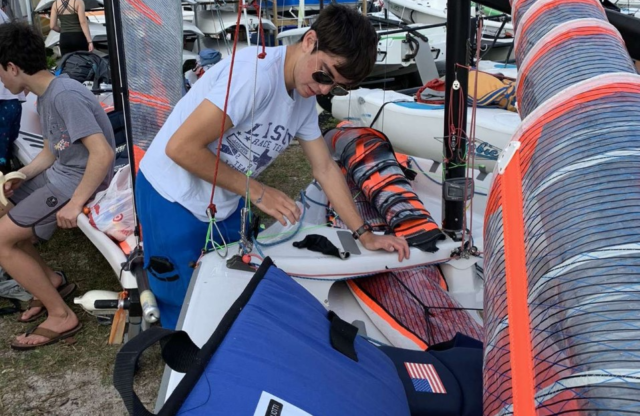 Profiles in Amateur Sailing: Griffin Gigliotti