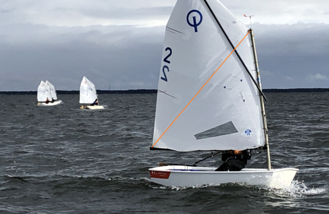 Sponsor News: Optimist Quick Tip— Sprit Tension is the Key!