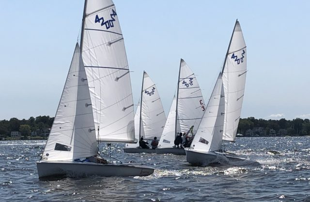 S1D Youth Sailing Team Takes Flight