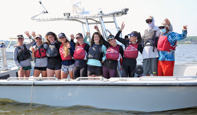 We're Back! HS/College Sailing and the Long Path Out