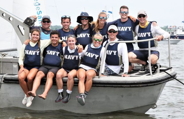 US Naval Academy Wins 2021 ISCA Team Race National Championship